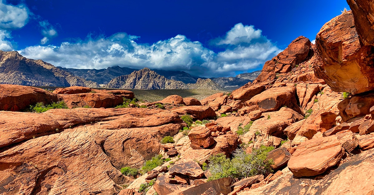 Red Rock Canyon is a Climber's Paradise